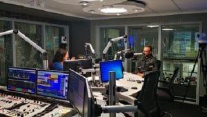 Guy and Pippa in the Cape Talk studio