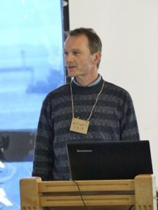 William Stafford presenting at Demystifying Bioplastics