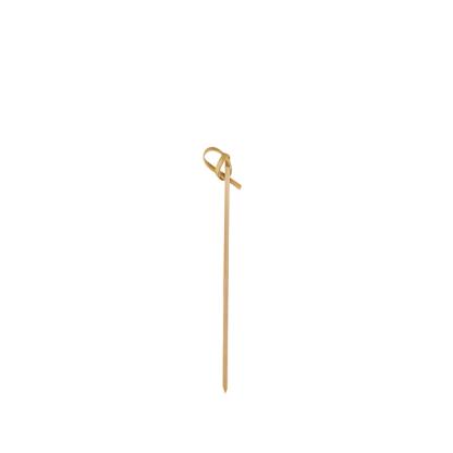 12cm Bamboo Ribbon Skewer