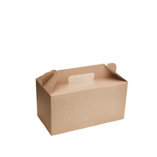 2500ml Kraft Meal Box