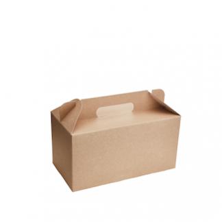 2500ml Kraft Meal Box