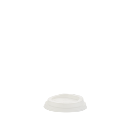 250ml Compostable White Hot Cup Lid