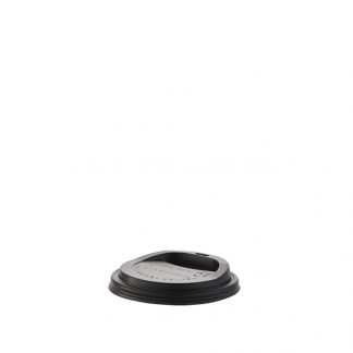 300/350/ 500ml Compostable Black Hot Cup Lid