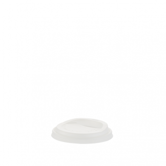 300/350/ 500ml Compostable White Hot Cup Lid
