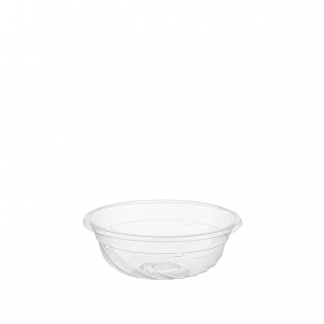 350ml Clear Compostable PLA Bowl