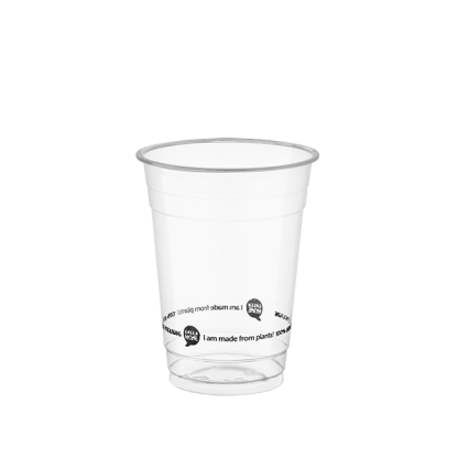 500ml Clear Compostable PLA Cup
