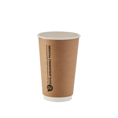 500ml Double Wall Printed Kraft Cup