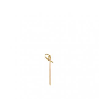 6cm Bamboo Ribbon Skewer