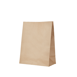 Medium Shopper Kraft Gusseted Bag