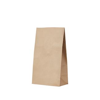 S0 20 Kraft Gusseted Bag