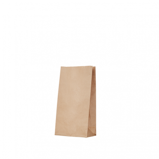 S0 6 Kraft Gusseted Bag