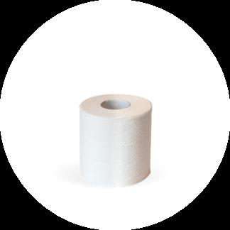 Elemental Chlorine Free Sugercane Fibre Based Single Ply Toilet Paper - 48 Units