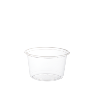 500ml Clear Compostable PLA Bowl