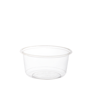 700ml Clear Compostable PLA Bowl